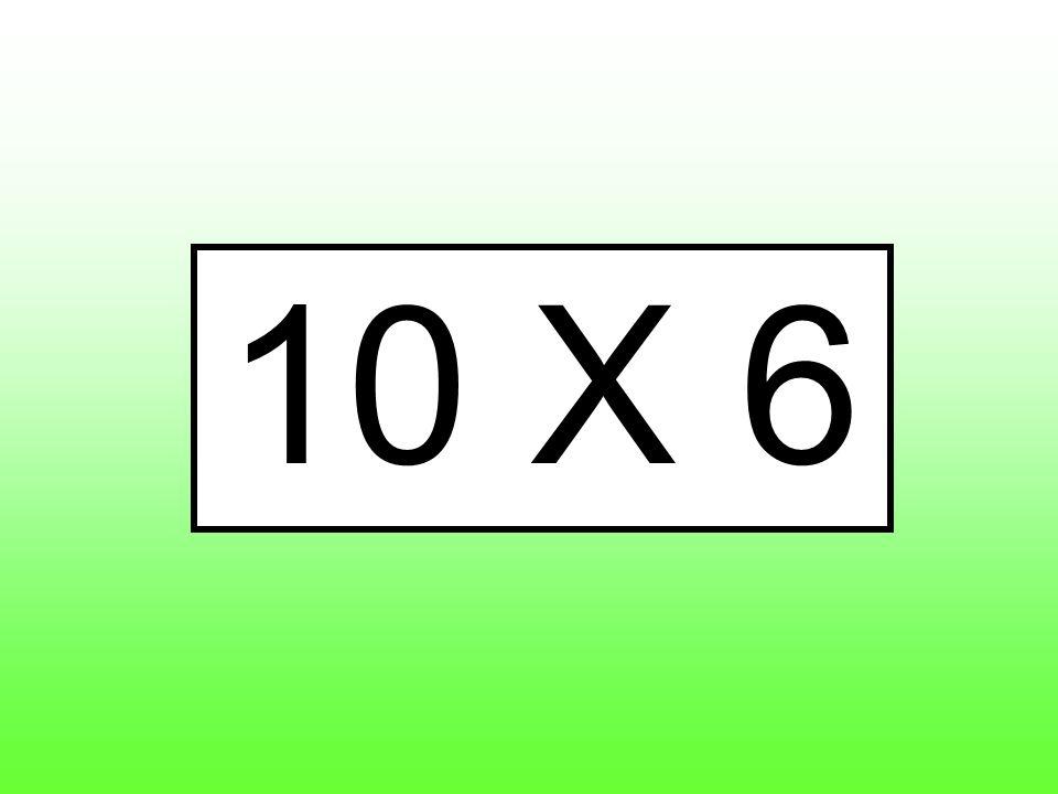 10 X 6