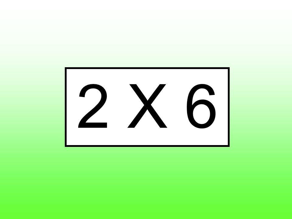 2 X 6