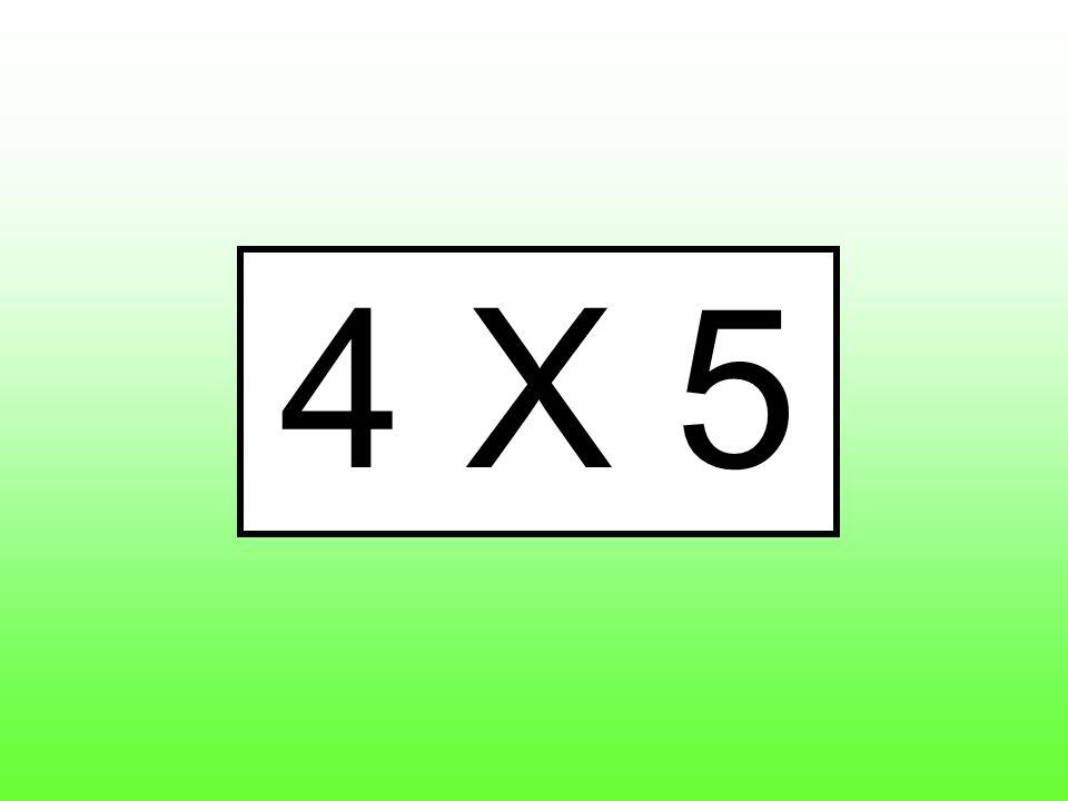 4 X 5