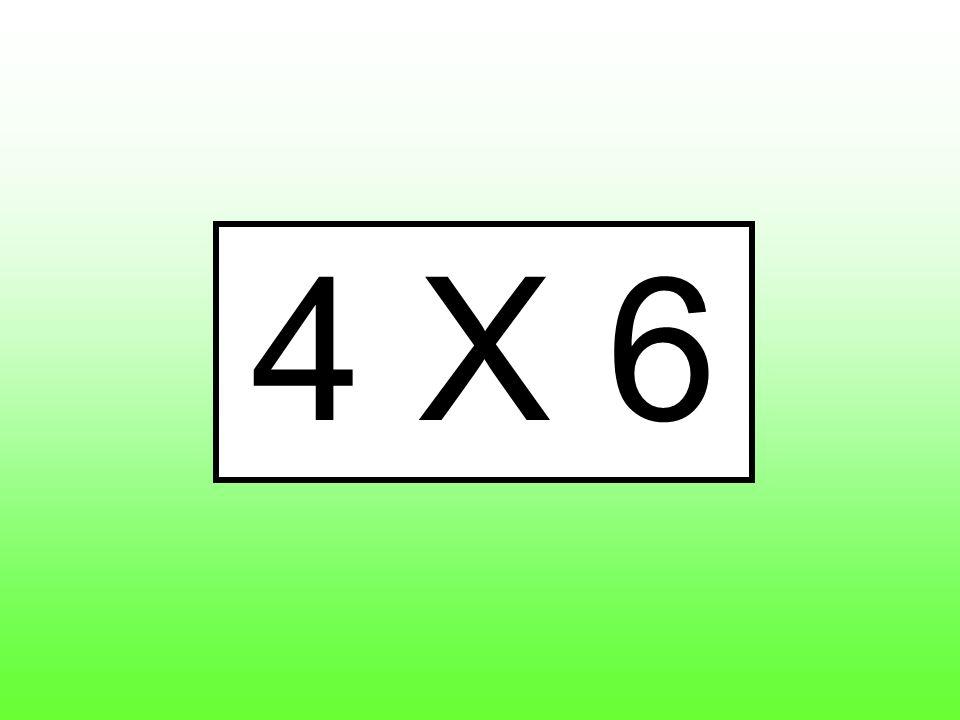 4 X 6