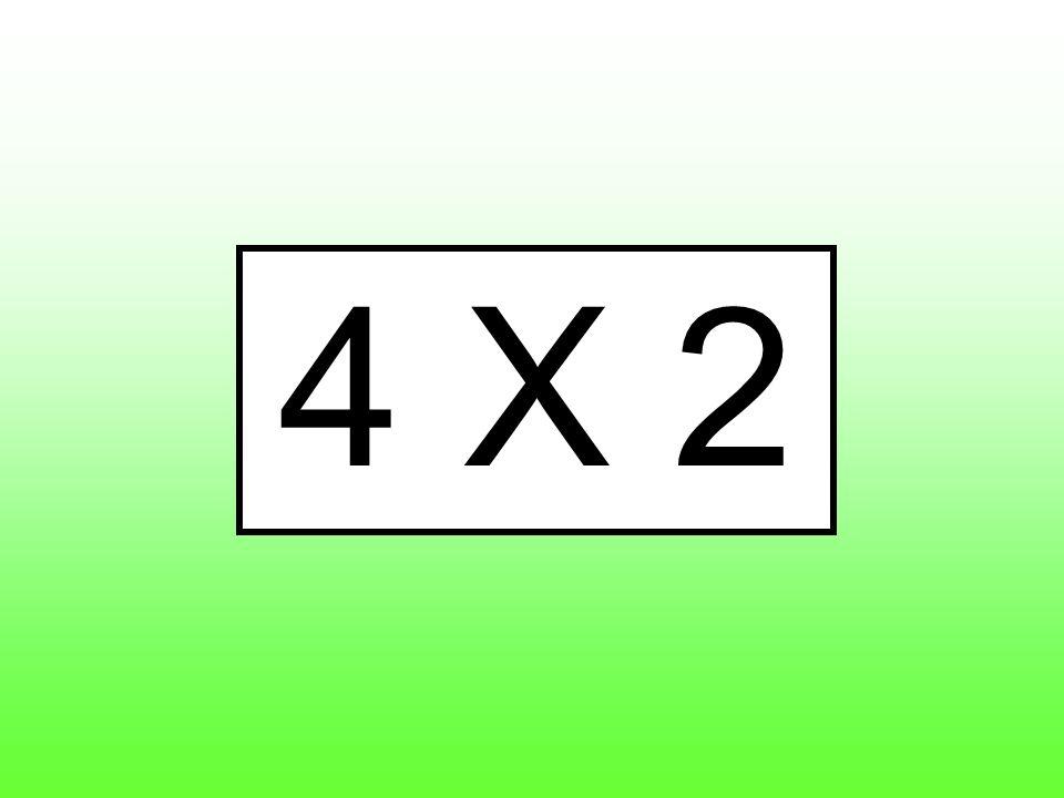 4 X 2
