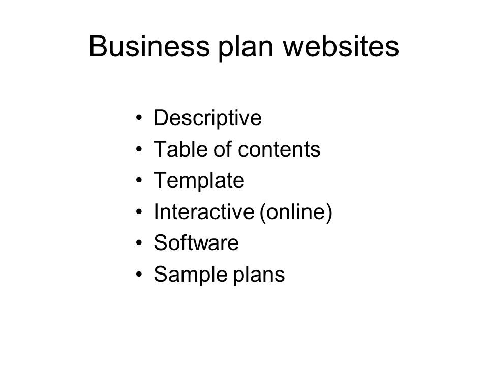 Business plan table of contents template yelomdiffusion business plan table of contents template introduction to business plans for smes ppt video online accmission Images