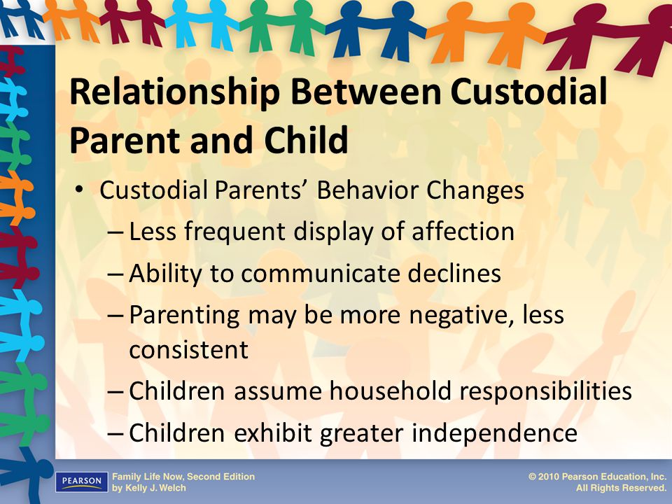 Relationship Between Custodial Parent and Child