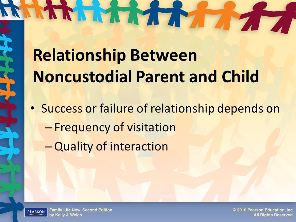 Relationship Between Noncustodial Parent and Child