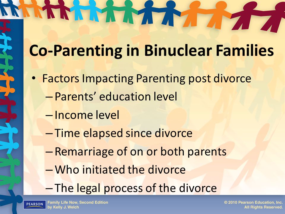 Co-Parenting in Binuclear Families
