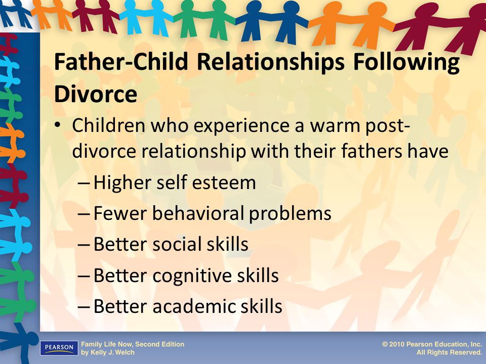 love relationships of children of divorce essay Sociological studies of the family look at: demographic characteristics of the  family members:  all the things that can be seen as gains from the relationship  such as love, sex, companionship, emotional support  it has been shown that  the children with divorced parents have an increased risk of: experiencing  psychological.