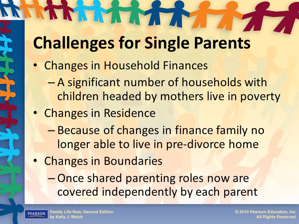 Challenges for Single Parents