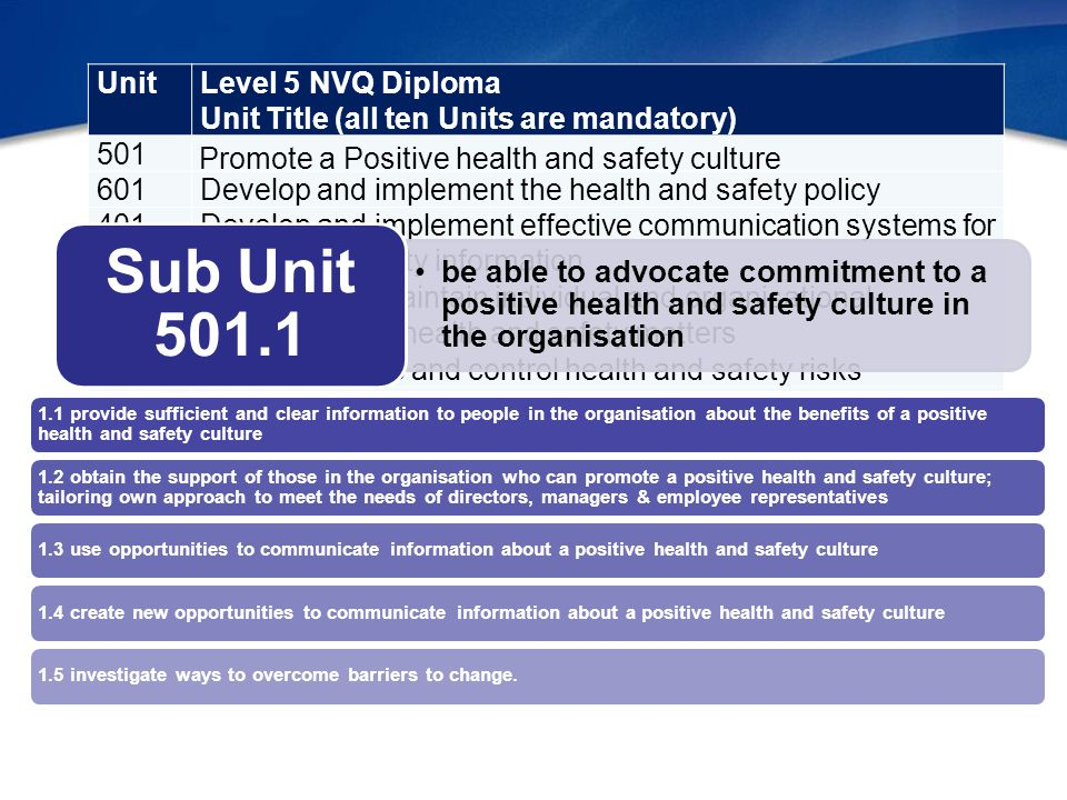 health and safety nvq level 2 Health and social care nvq level 2 unit 201 principles of personal development in 31102014 adult social care settings  outcome 1 11 people communicate to understand their needs, to have a conversation, to express feelings, needs, to build relationships and trust.