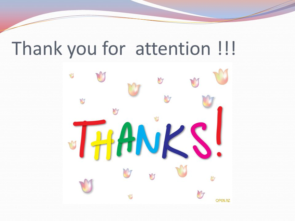 Thank you for attention !!!