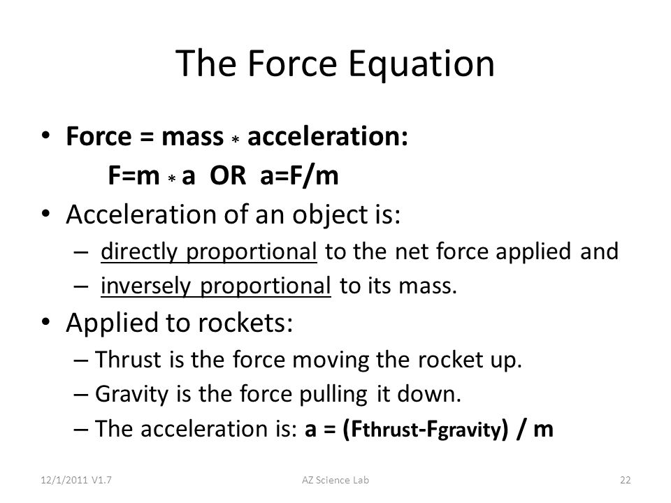 how to use the rocket equation