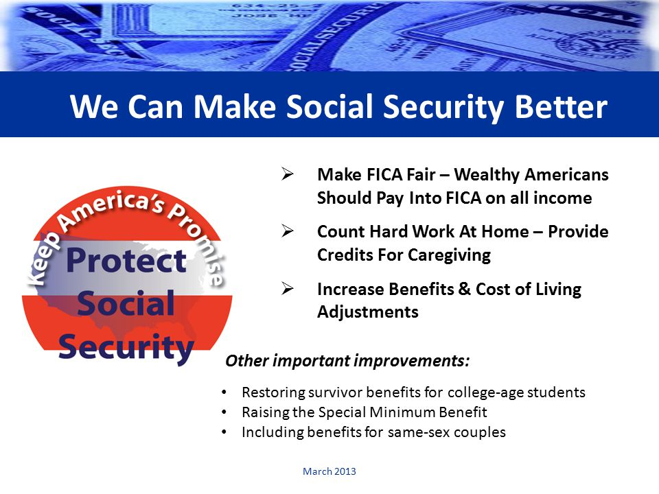 benefits and drawbacks of the american social security program Many americans claim social security early, despite lower benefits  to the  social security program, since the lump-sum payment would be a.