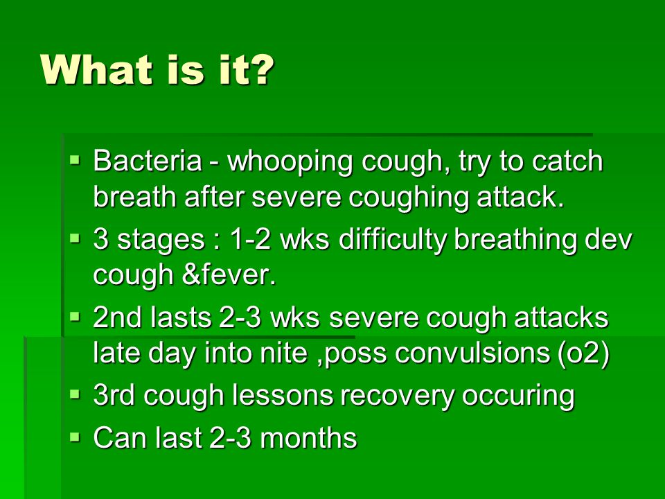 how to stop severe coughing attacks