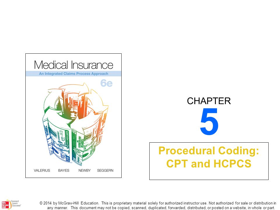 Procedural Coding CPT And HCPCS