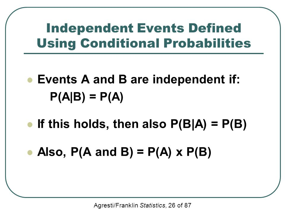 how to add probabilities of independent events