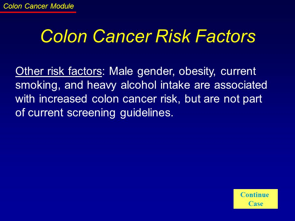 colon cancer screening guidelines canada