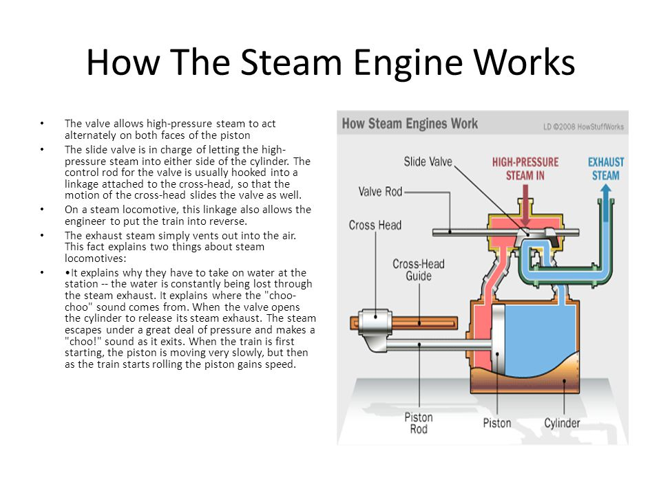INTERNAL COMBUSTION ENGINES AND STEAM ENGINES ppt video online – Diagram Of Steam Steam Engine For Movement