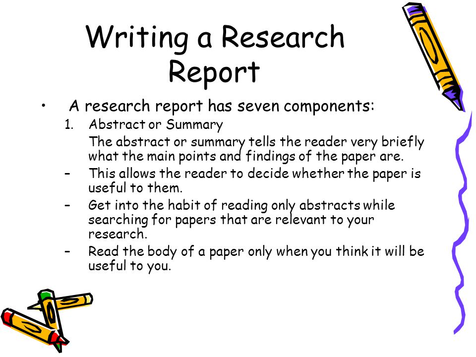 how to write a discussion for a research paper A research paper is a method of communication, an attempt to tell others about some specific data that you have gathered and what you think those data mean in the context of your research the rules of writing a scientific paper are rigid and are different from those that apply when you write an english theme or a library research paper.