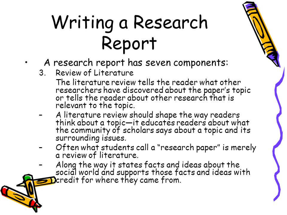 review on a research report for The structure of the review report varies between journals some follow an  informal  what is the main question addressed by the research is it relevant  and.