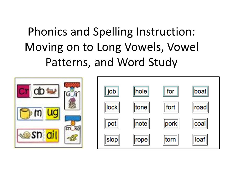 Objectives Build on early letter sound correspondence skills