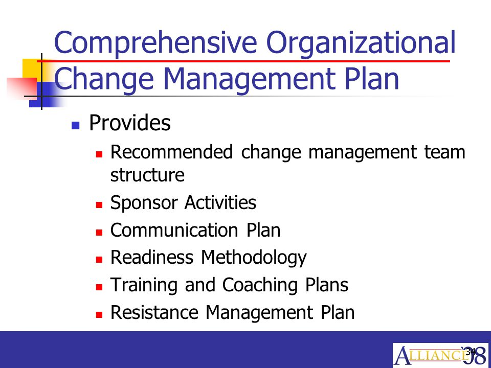 Erp  Getting From Here To There With Organizational Change