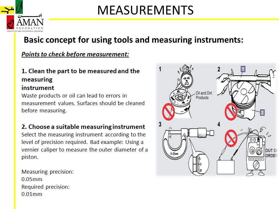 Examples Of Measurement Instruments : Measurements ppt video online download
