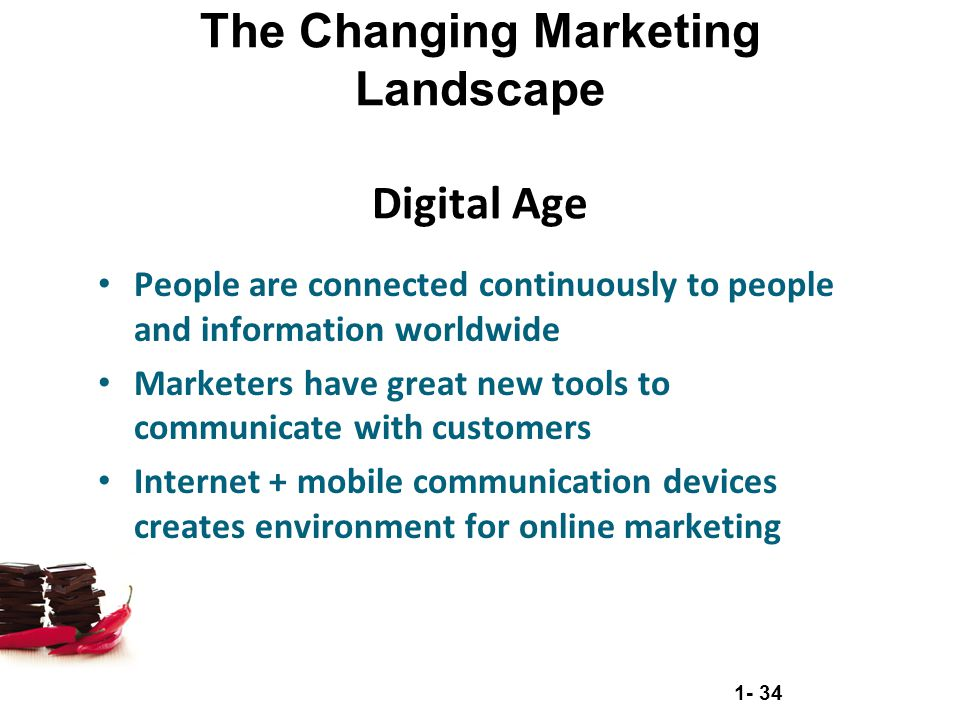 The Changing Marketing Landscape Digital Age