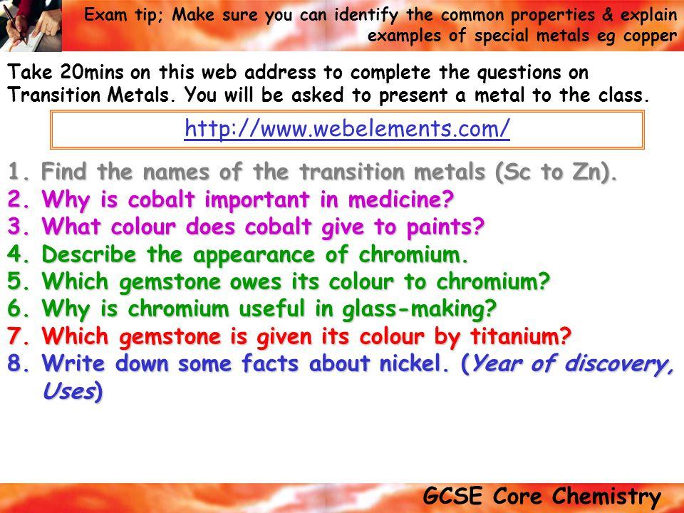 Periodic table transition metals periodic table facts periodic periodic table transition metals periodic table facts transition metals key words transition metals urtaz Choice Image