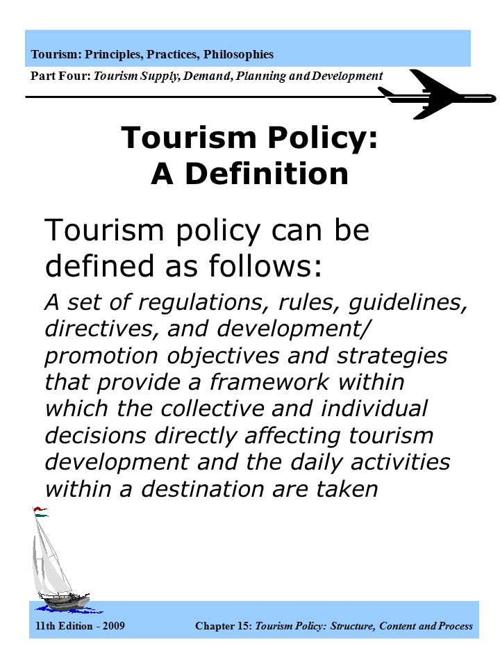 Definition of Policy | AD for Policy and Strategy | CDC