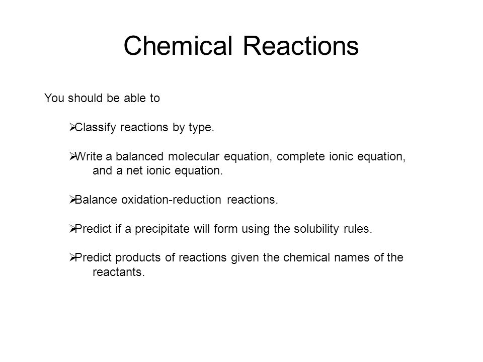 chemical equations reactions ppt download. Black Bedroom Furniture Sets. Home Design Ideas