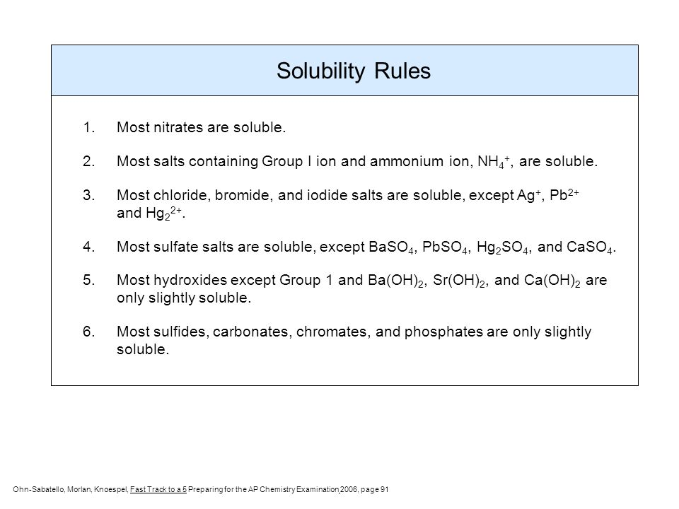 Chemical Equations Reactions ppt download – Solubility Rules Worksheet