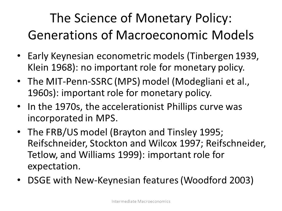 important features of monetary policy Key features of current monetary policy practice, including in particular reserve averaging procedures and a commitment, either explicit or implicit, by the central bank to lend or absorb reserves in response to differences between the policy interest rate and the corre.