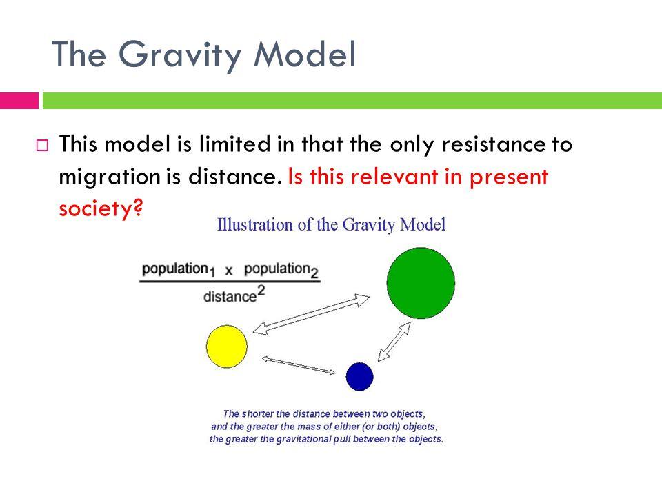 ravenstein model of migration