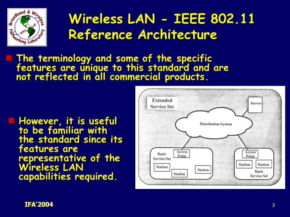 Ad hoc wireless networks architectures and protocols c for Ieee 802 11 architecture
