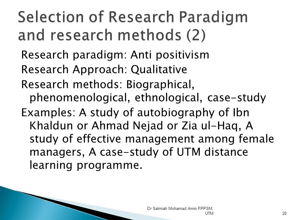 case study research methodology qualitative Planning the methodology - the qualitative pathway there are three main types of qualitative research designs a case study of parental involvement at a.
