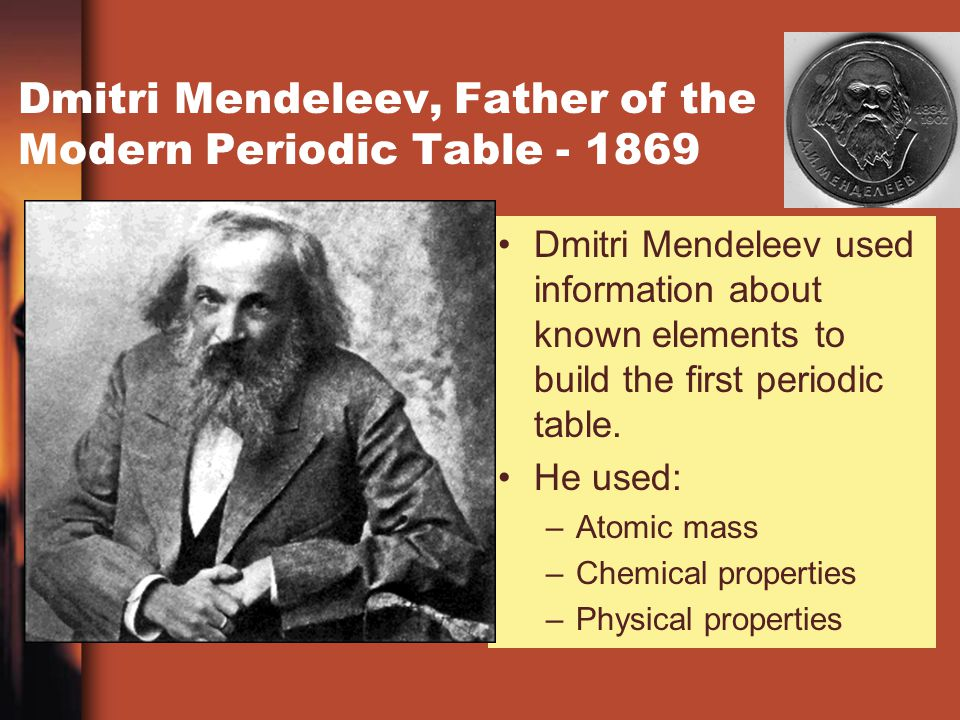 contributors of the periodic table of A brief history of the periodic table of the elements chemistry tutorial key concepts the periodic table of the elements is a very useful tool for chemists and students of chemistry.