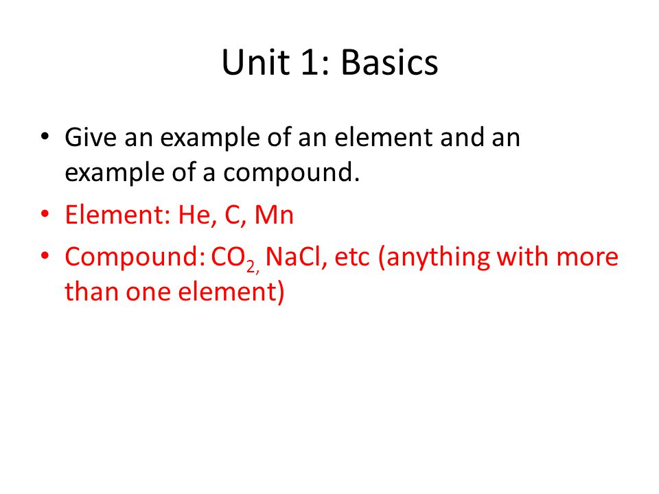 Chemistry Final Review Ppt Video Online Download
