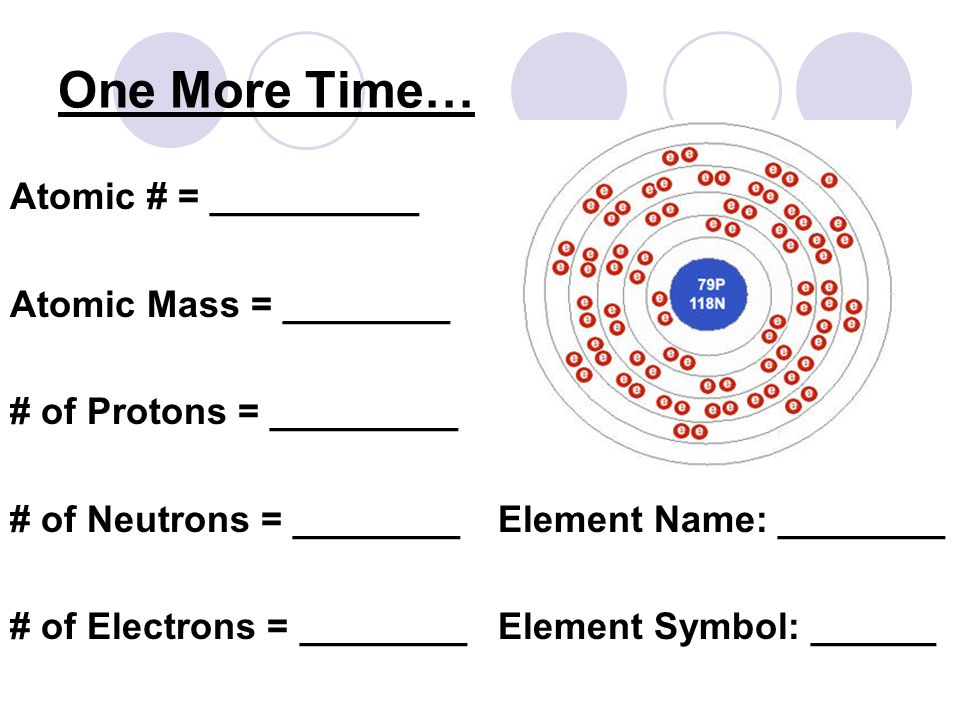 how to find protons neutrons electrons and atomic mass