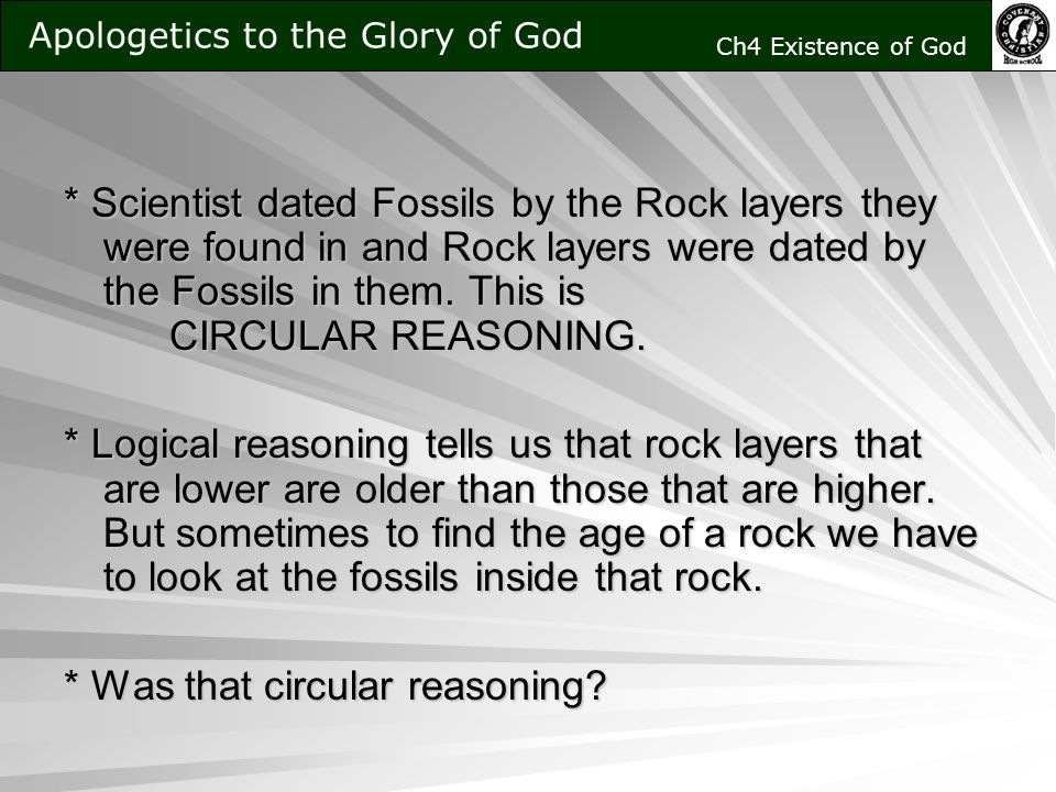 radiometric dating circular reasoning