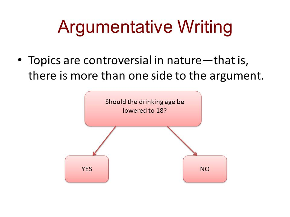 ch reading and writing argument essays ppt  2 argumentative writing