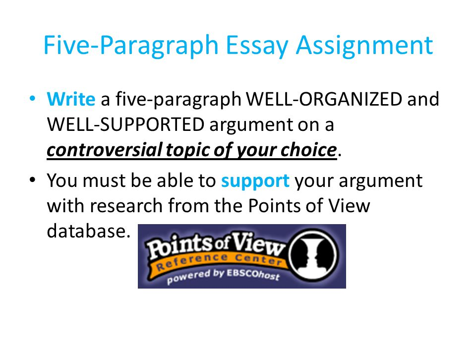 controversial issues argumentative essay To successfully write an argumentative essay, the writer must thoroughly investigate the topic and collect any information and evidence on the topic a.