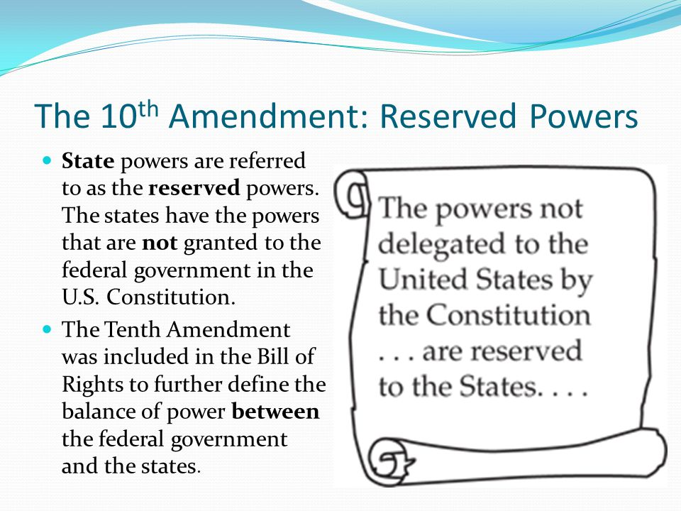 rights reserved to states or people meet