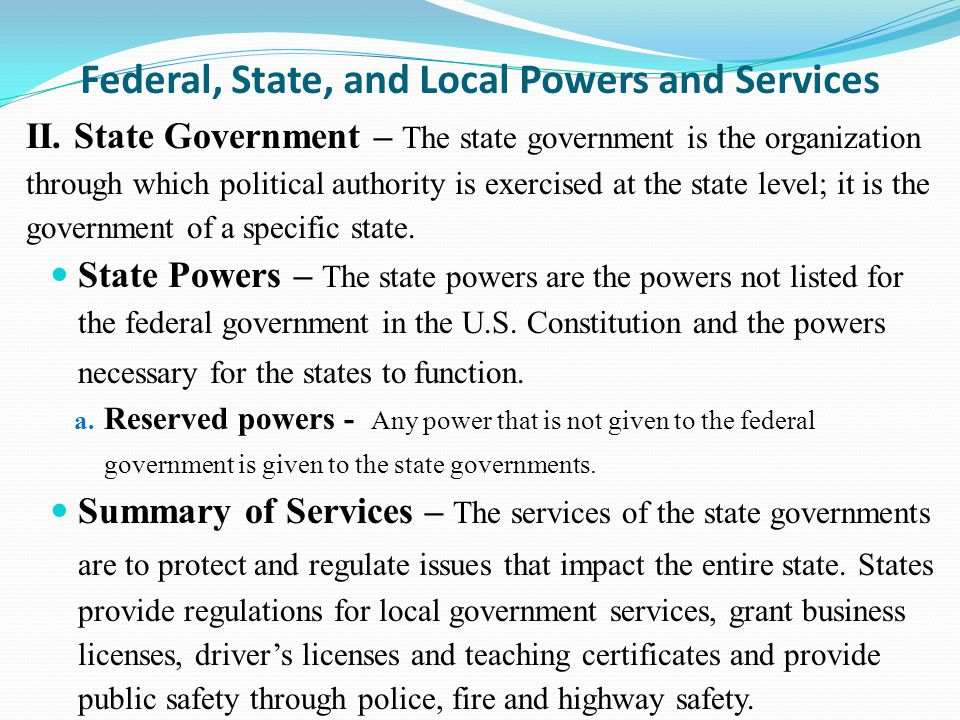 state and local government Local government services include administrative, financial, and other assistance to local officials, staff, and citizens in the day-to-day operation of a local government.