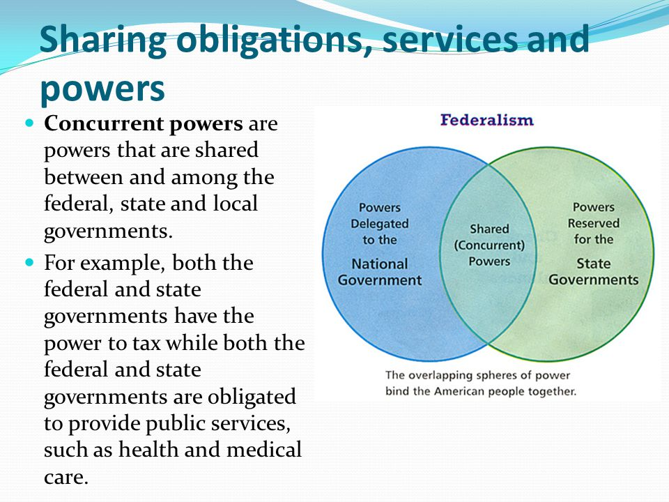 what powers are extended to the federal government At a bare minimum, the interstate commerce clause would clearly allow this, given that the power grids of states are intrinsically interconnected because there is no such thing as an 'isolated' ecosystem in the us, the federal government has an.