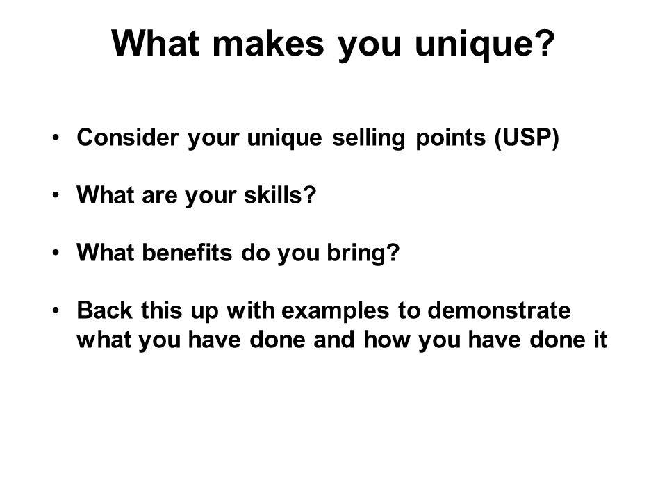 What Makes You A Unique Person