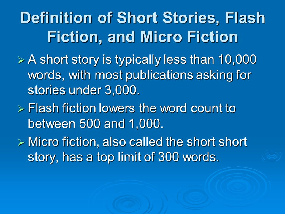 how to write a news flash definition