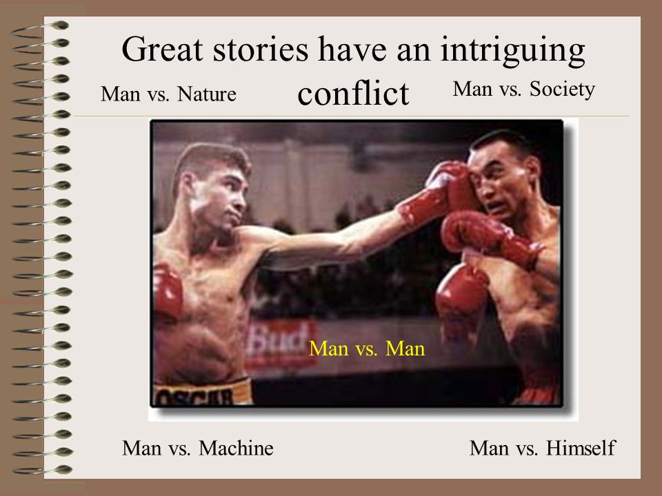 Short Stories With Conflict Man Vs Nature