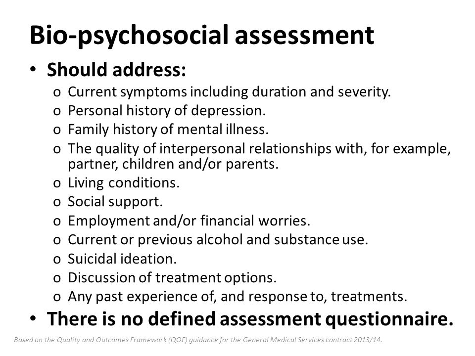 Clinical Knowledge Summaries Cks Depression - Ppt Video Online