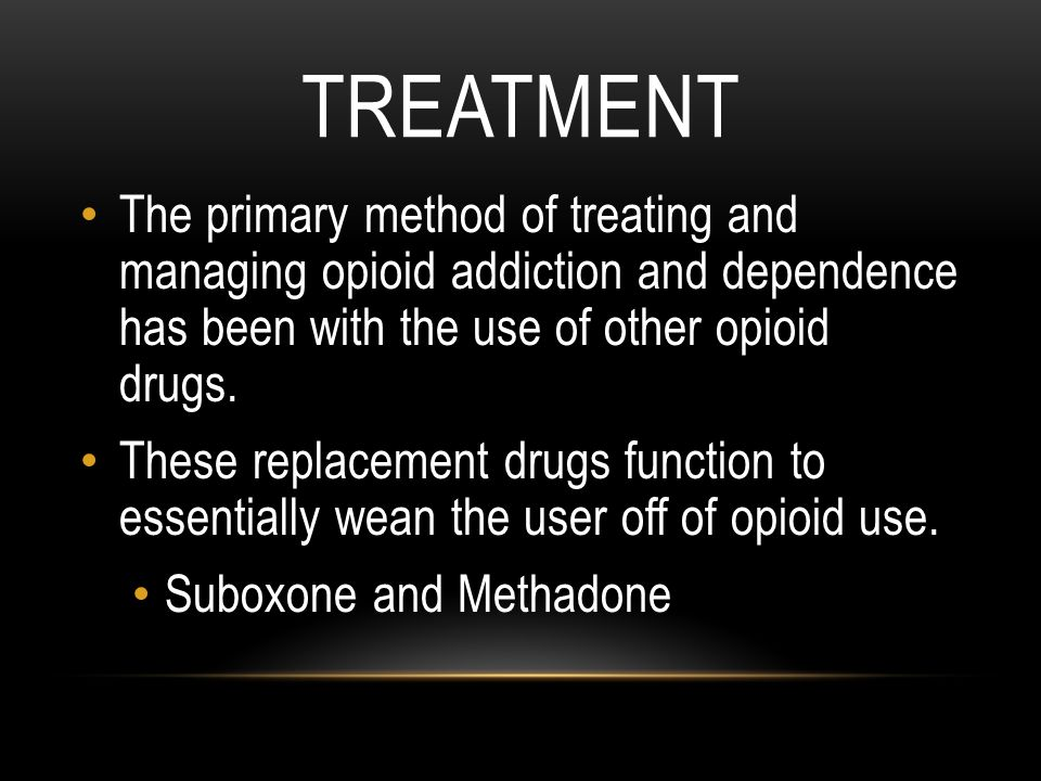 Opioid abuse and addiction treatment essay