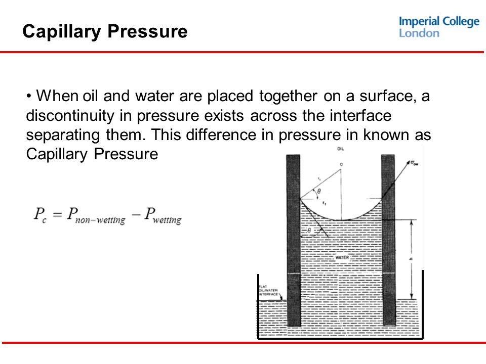 capillary pressure and permeability relationship tips