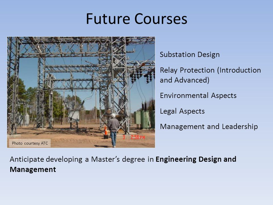 Future Courses Substation Design